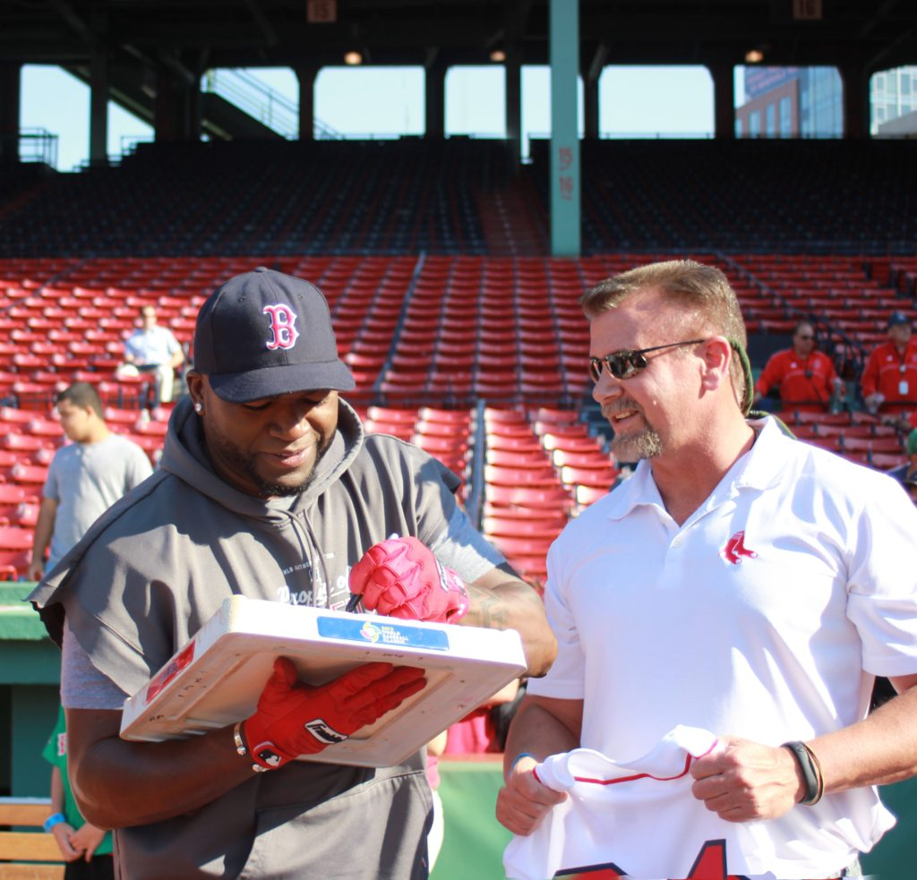 2013 Big Papi WBC Base signing at Fenway